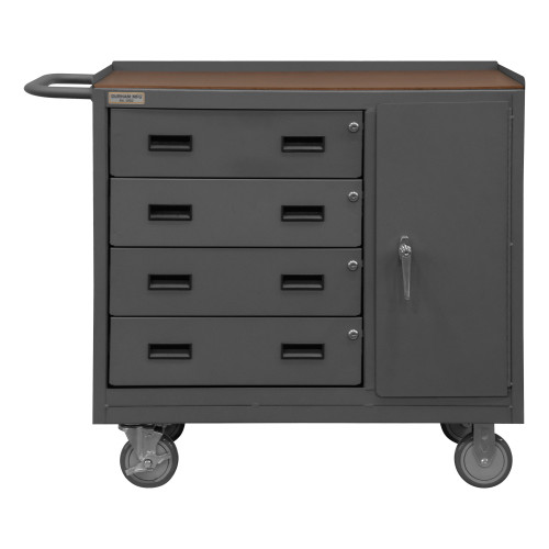 Durham Mobile Bench Cabinet 2211A-TH-LU-95