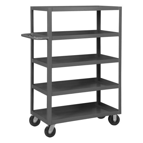 Durham Stock Cart, 5 Shelf RSC-2436-5-3K-95