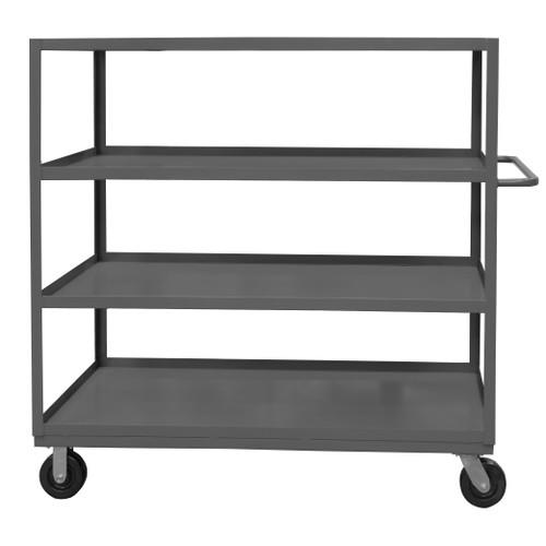 Durham Stock Cart, 4 Shelf RSC-2436-4-3K-95