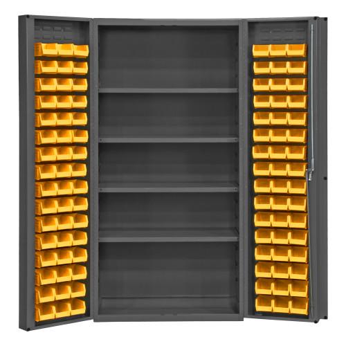 Durham Bin & shelf cabinet DC-DLP-96-4S-95