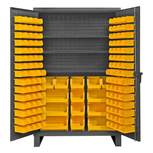 Durham Bin & shelf cabinet HDC48-134-3S95