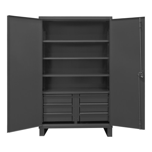 Durham Shelf & drawer cabinet HDCD244878-6B95