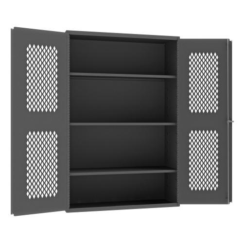Durham Ventilated cabinet with shelves EMDC-482472-95