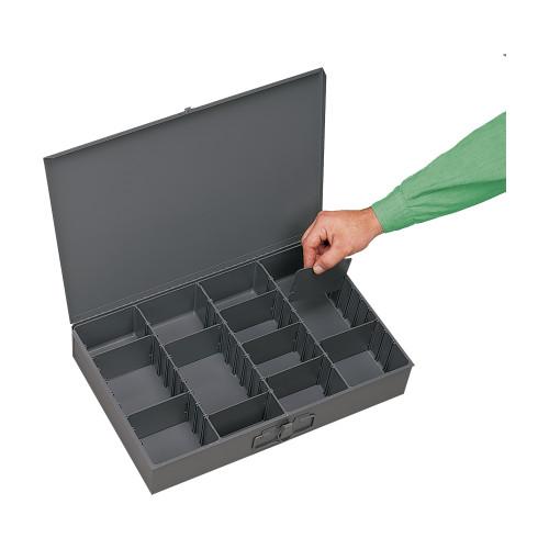 Durham Large steel compartment box 119-95