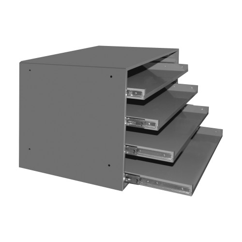 Durham Slide Rack, Compartment Box, Large 303B-15.75-95