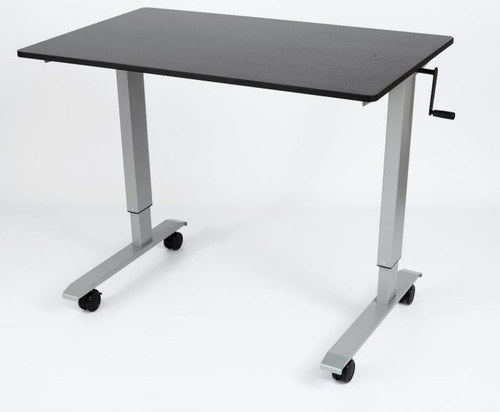 "Luxor 48"" High Speed Crank Adjustable Stand Up Desk"