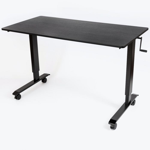 "Luxor 60"" High Speed Crank Adjustable Stand Up Desk"