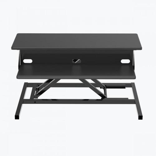 Luxor Level Up Pro 32 Standing Desk Converter - Black