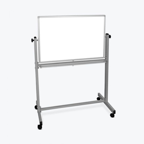 "Luxor 36""W x 24""H Double-Sided Magnetic Whiteboard"