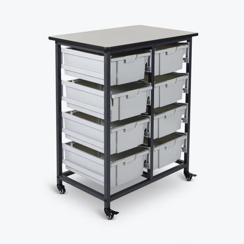 Luxor Mobile Bin Storage Unit