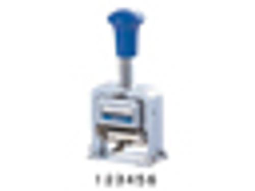 Lion Pro-Line Heavy-Duty Rubber Faced Wheel Automatic Numbering Machine, 6-Wheel, 1 Numbering Machine (MM-21)