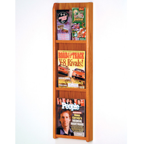 Divulge 3 Magazine/6 Brochure Wall Display w/Brochure Inserts