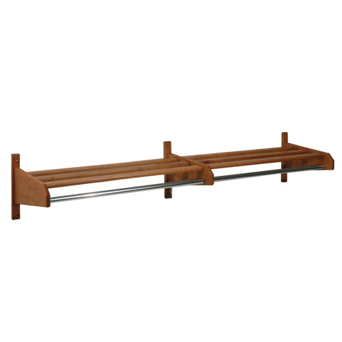 "50"" Oak Coat & Hat Rack"
