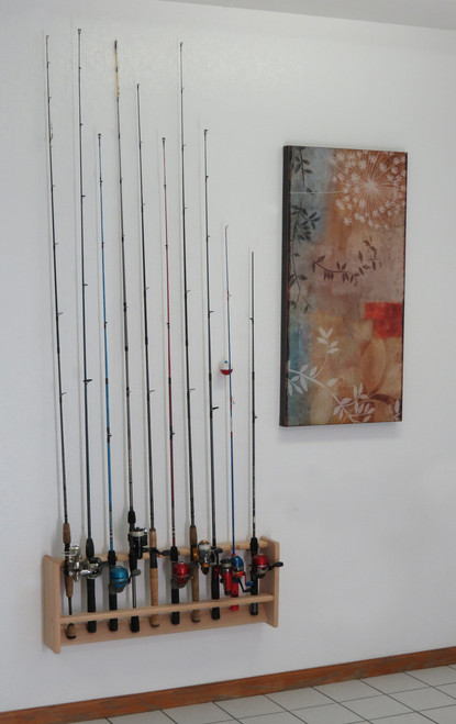Fishing Rod Rack, 10 Rod