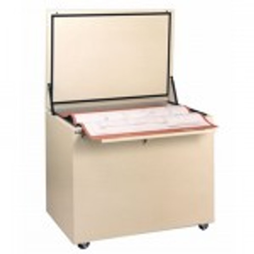 Fire resistant map storage of the Planfile protects your large documents. These cabinets are water resistant and protect maps and plans from dust also.
