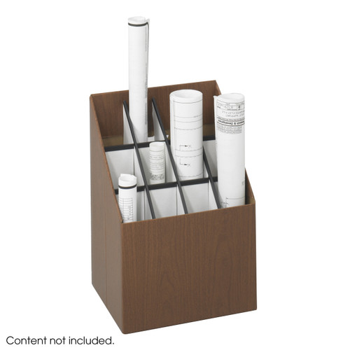 Upright Roll File, 12 Compartment