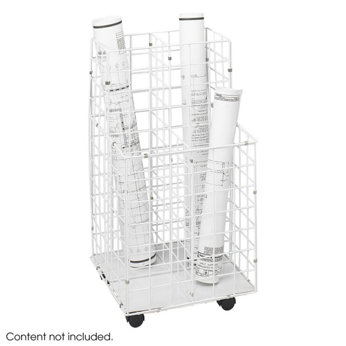 Wire Roll File, 4 Compartment