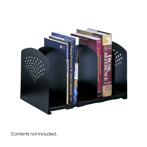 Five Section Adjustable Bookrack