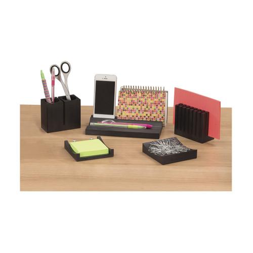 Wood Desk Organizer Set