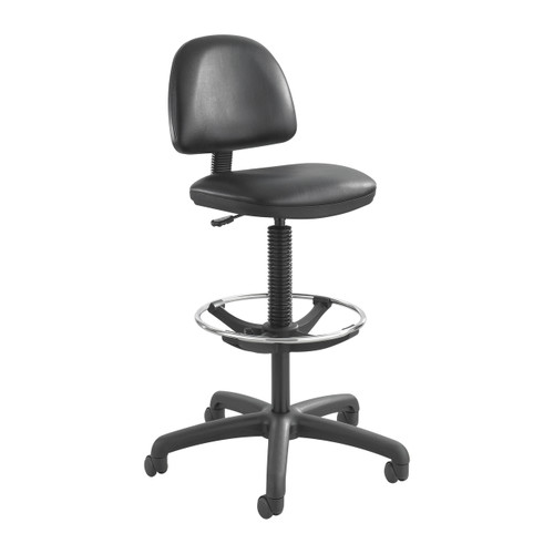 Precision Vinyl Extended-Height Chair with Footring