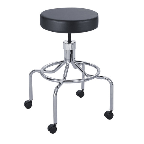 Lab Stool, High Base with Screw Lift