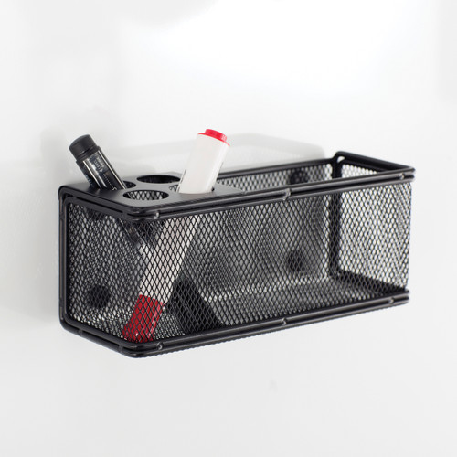 Onyx Mesh Marker Organizer with Basket