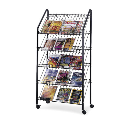 Mobile Literature Rack