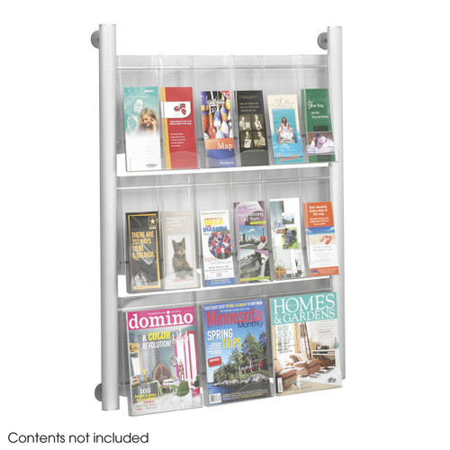 Luxe Magazine Rack - 9 pocket