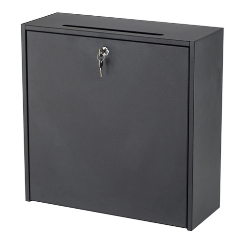 "18x18"" Wall-Mounted Interoffice Mailbox with Lock"