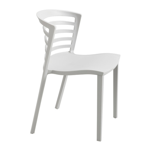 Entourage Stack Chair - Gray (Qty. 4)
