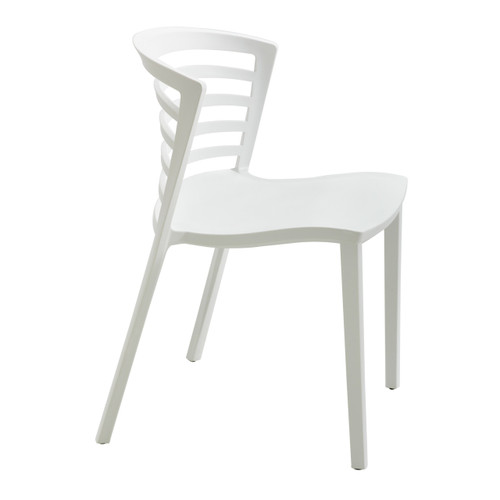 Entourage Stack Chair - White (Qty. 4)