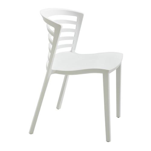 Entourage Stack Chair - White (Qty. 4)