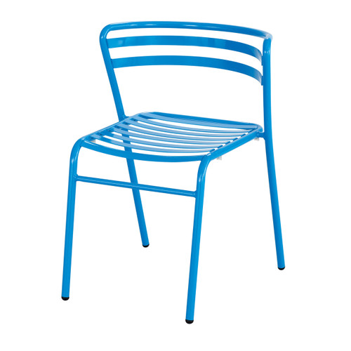 CoGo Steel Outdoor/Indoor Stack Chair (Qty. 2)