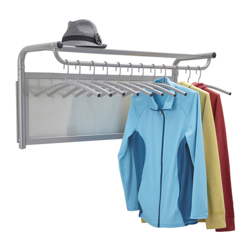 Impromptu Coat Wall Rack with Hangers