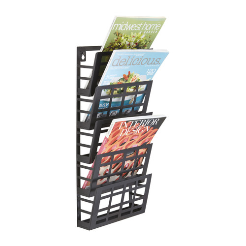 Grid Magazine Rack 5 Pocket