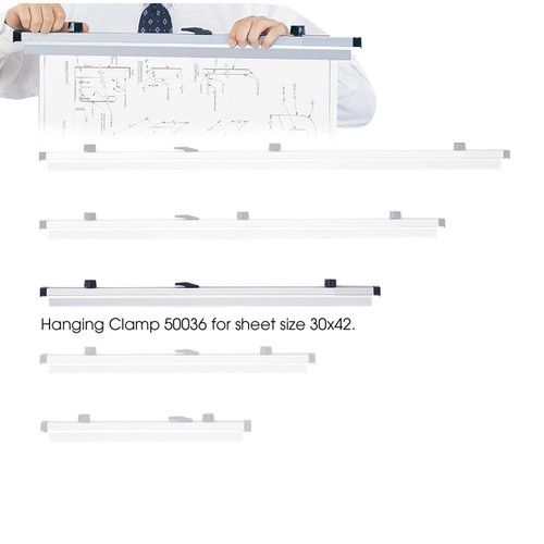 "30"" Hanging Clamps for 30"" x 42"" Sheets"