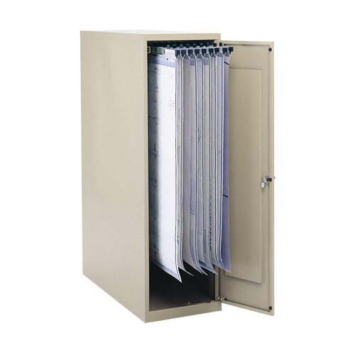 "Large Vertical Storage Cabinet for 18"", 24"", 30"" and 36"" Hanging Clamps"