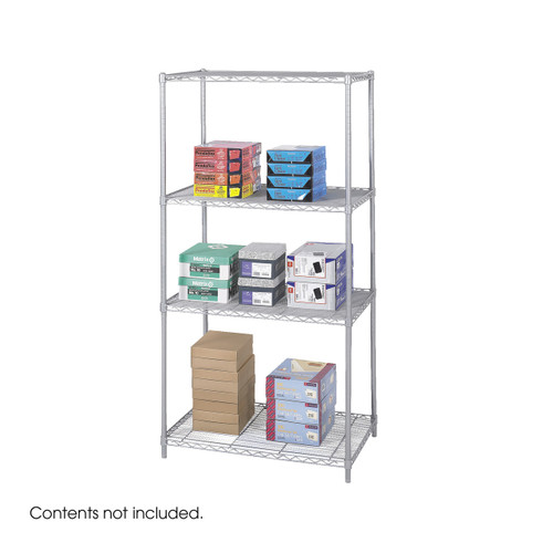 """Industrial Wire Shelving, 36 x 24"""""""