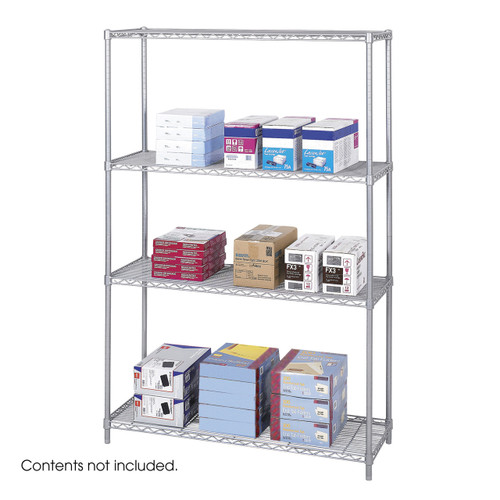 """Industrial Wire Shelving, 48 x 18"""""""