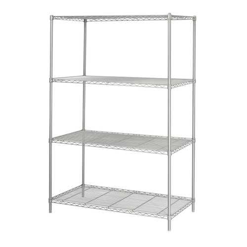 """Industrial Wire Shelving, 48 x 24"""""""