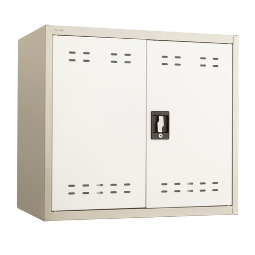 "27""H Steel Storage Cabinet, Wall Mountable"