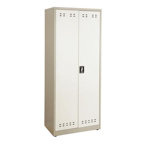 """72""""H Steel Storage Cabinet"""