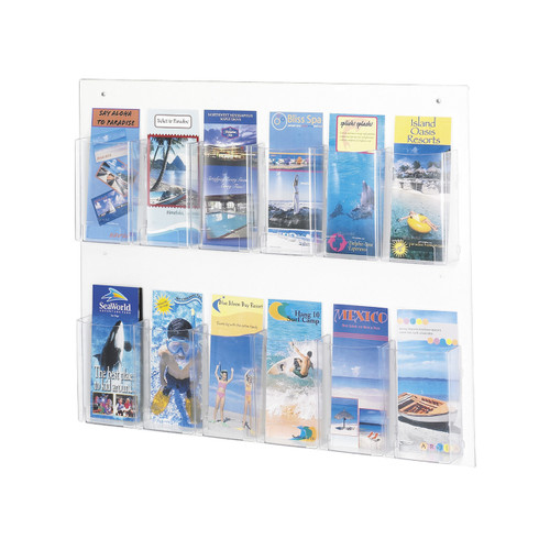 Clear2 12 Pamphlet Display