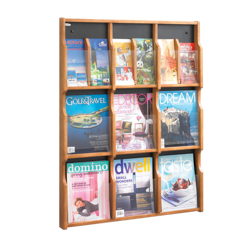 Expose 9 Magazine 18 Pamphlet Display