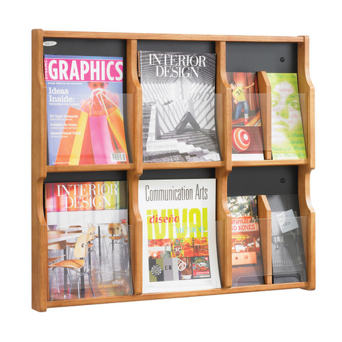 Expose 6 Magazine 12 Pamphlet Display