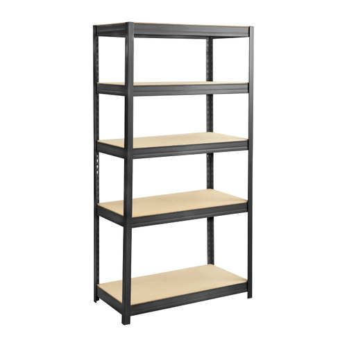 Boltless Steel and Particleboard Shelving 36x18