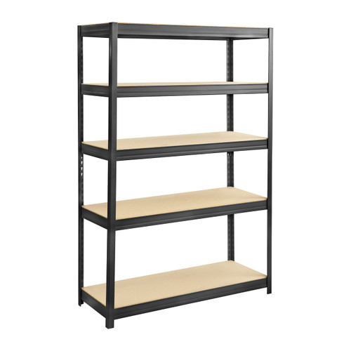 Boltless Steel and Particleboard Shelving 48x18