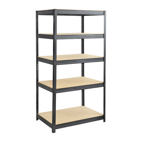 Boltless Steel and Particleboard Shelving 36x24
