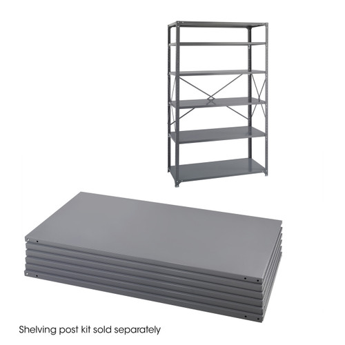 48 x 24 Industrial 6 Shelf Pack