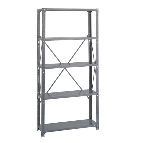 36 x 12 Commercial 5 Shelf Kit